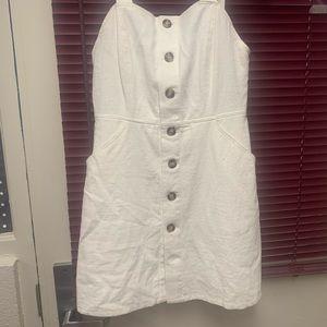 White denim boutique dress.